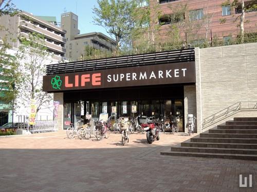 ライフ 目黒大橋店