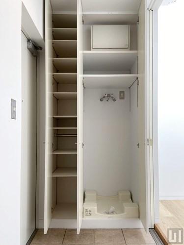 1K 26㎡タイプ - 下足入れ・洗濯機置き場