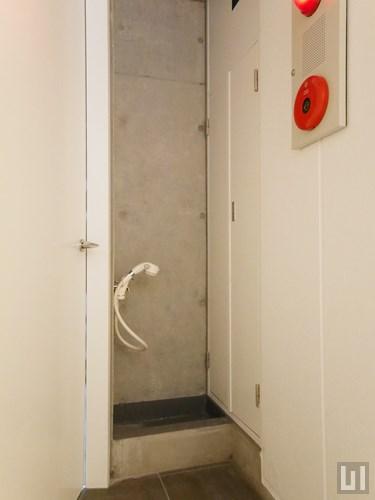 玄関前ペット専用洗い場