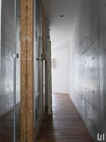 1R 34.25㎡タイプ - 玄関廊下