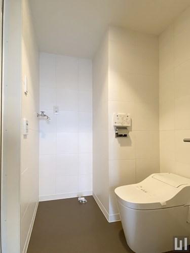 1R 49.60㎡タイプ - トイレ・洗濯機置き場