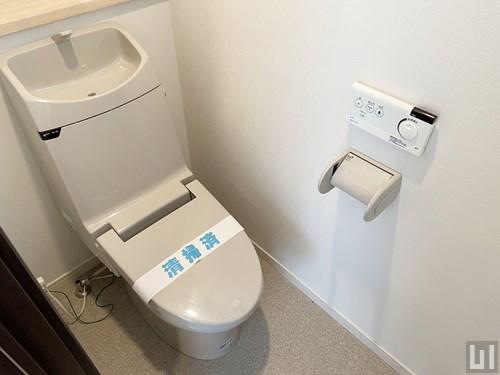 1DK 41.91㎡タイプ - 2階・トイレ