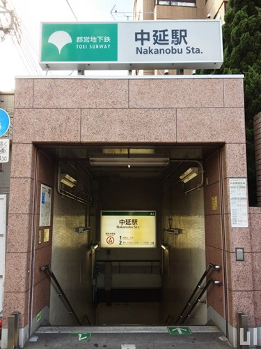 都営浅草線 中延駅