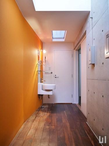 1DK 37.83㎡タイプ - 洋室・洗面台