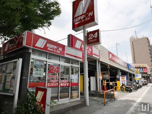 ニッポンレンタカー 旗の台店