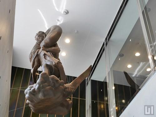 エントランスホール・風神雷神像
