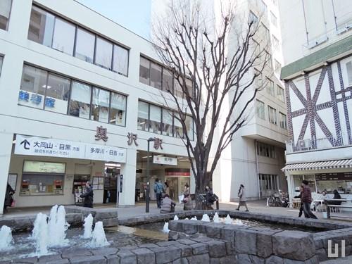 東急目黒線 奥沢駅