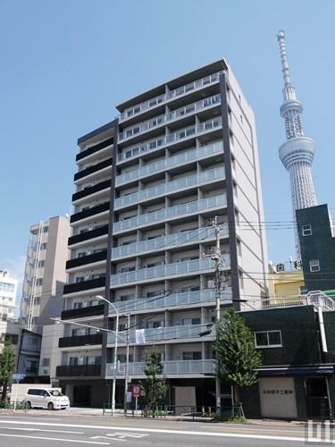 パークアクシス押上・隅田公園 - マンション外観