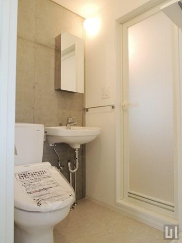 1K 25.46㎡タイプ - 洗面台・トイレ