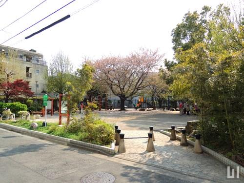 マンション隣の区立公園