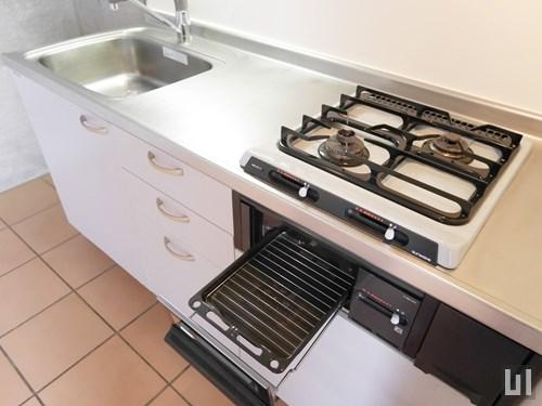 1LDKメゾネット38.69㎡タイプ - キッチン