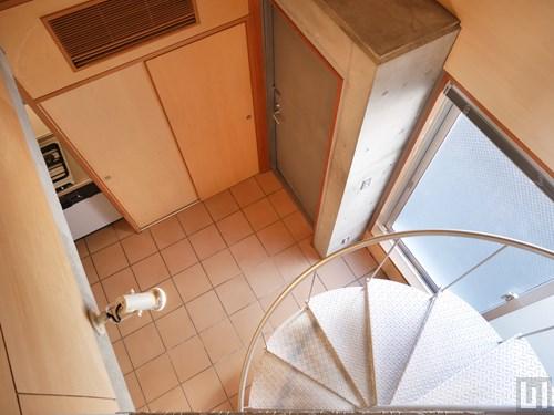 1LDKメゾネット38.69㎡タイプ - 階段