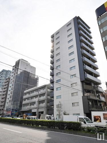 ザ・パークハビオ品川戸越 - マンション外観
