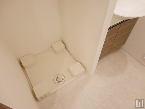 1K 25.03㎡タイプ - 洗濯機置き場