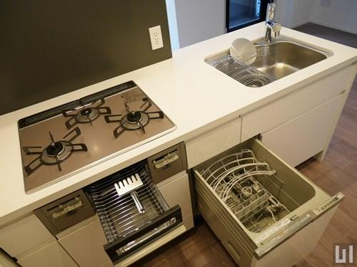 1LDK 44.55㎡タイプ - キッチン