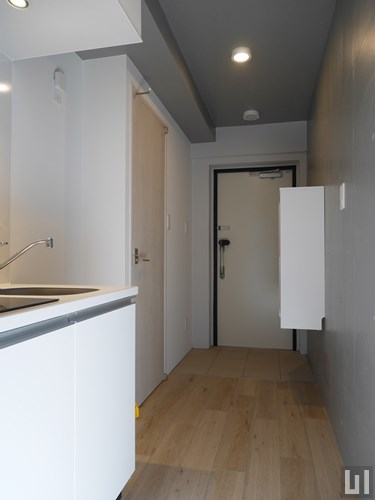 WEST棟 1K 18.27㎡タイプ - 玄関・キッチン
