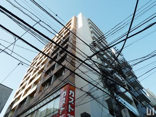 プレミアステージ三田慶大前 - マンション外観