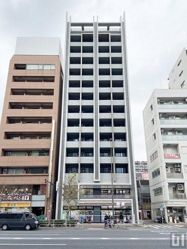 プライマル亀戸 - マンション外観