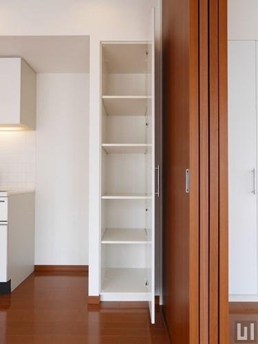 Kタイプ - キッチン横収納棚