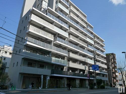 プラウドフラット渋谷富ヶ谷 - マンション外観