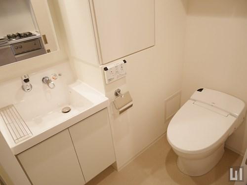 Aタイプ - 洗面台・トイレ
