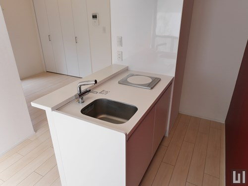 1K 27.55㎡タイプ - 洋室・キッチン