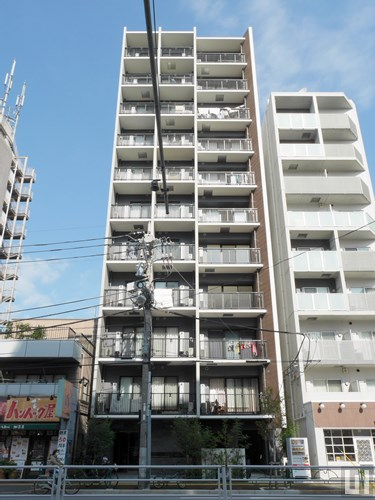 レオーネ錦糸町タワービュー - マンション外観