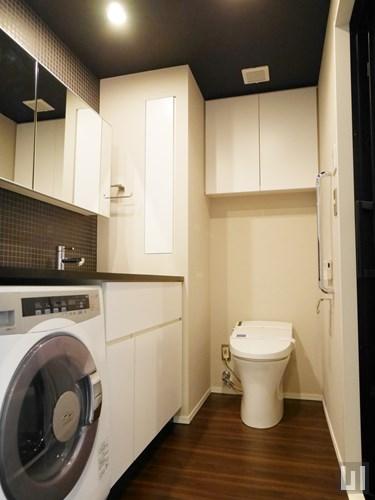 B1タイプ(ブラックウォールナット) - 洗面室