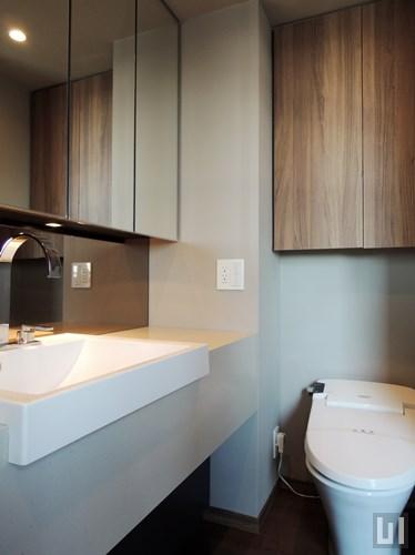 1R 42.66㎡タイプ - 洗面台・トイレ