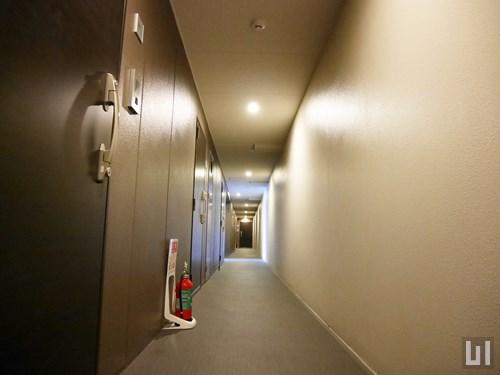 レジディア白金高輪共用廊下