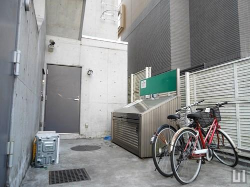 駐輪場・専用ごみ置き場