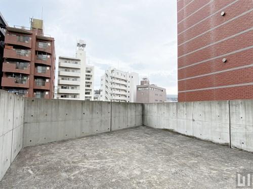 マンション屋上