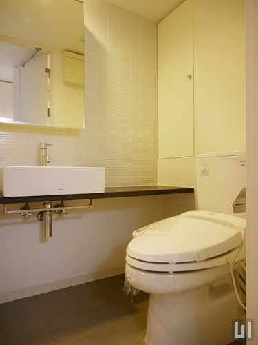 1K 23.87㎡タイプ - 洗面台・トイレ
