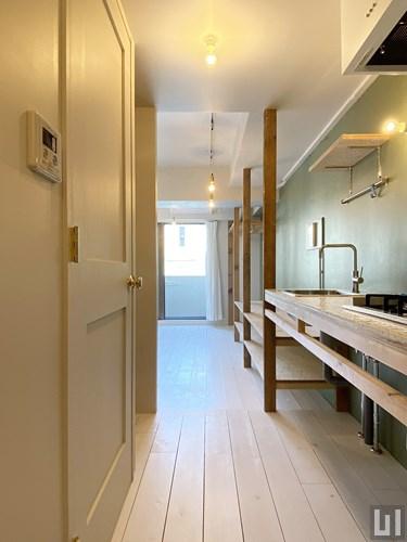 1R 30.69㎡タイプ - キッチン・洋室