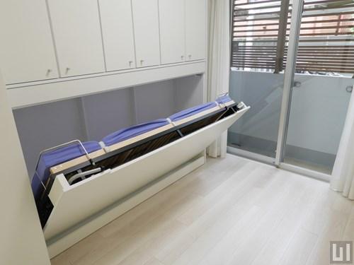 Hタイプ - 壁収納式ベッド