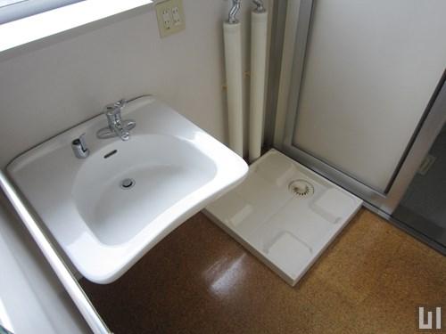 1K 60.12㎡タイプ - 洗面台・洗濯機置き場