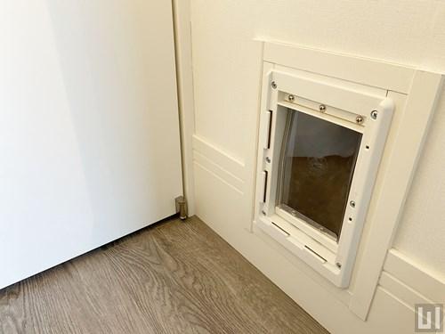 1R 24.83㎡タイプ - 猫用ドア
