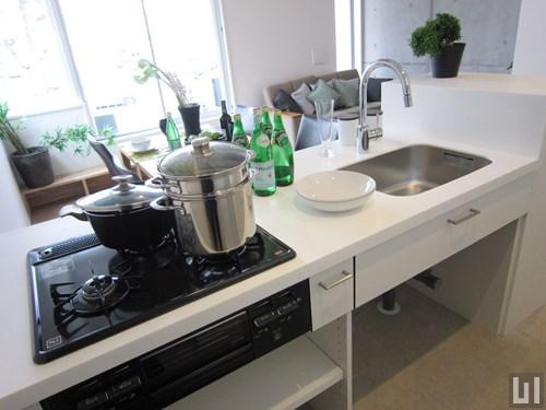01号室 - キッチン