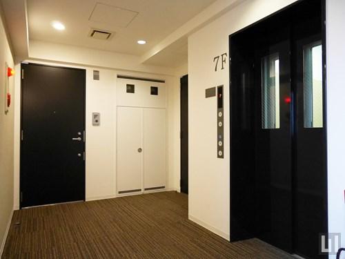 共用通路・エレベーター