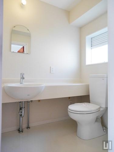 1LDK 47.05㎡タイプ - 洗面台・トイレ