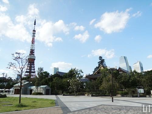芝公園 - 東京タワー