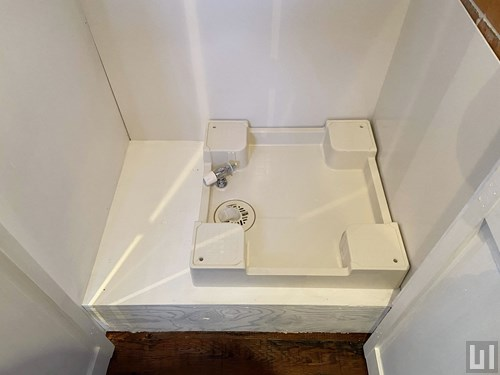 1R 39.96㎡タイプ - 室内洗濯機置き場