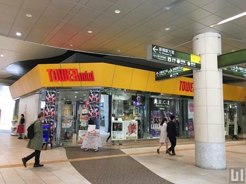 タワーレコード TOWERmini 汐留店