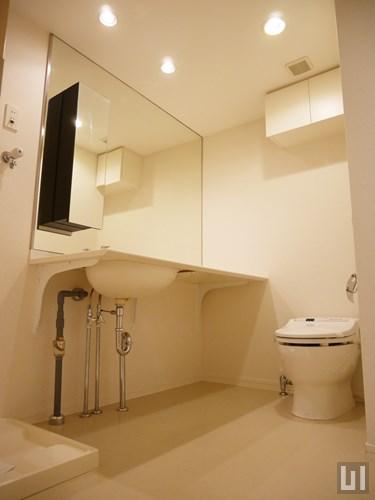105号室 - 洗面台・トイレ