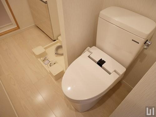 1K 25.34㎡タイプ - 洗面室・トイレ