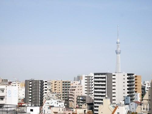 Gタイプ - 洋室窓から東京スカイツリー