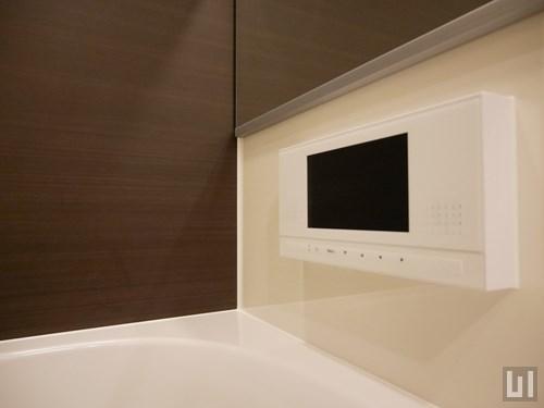 Dタイプ - バスルーム・小型テレビ