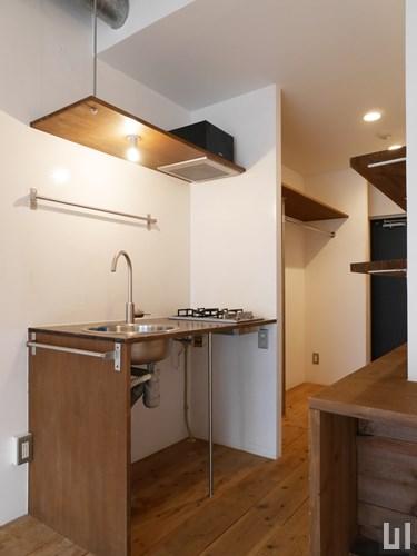 リノベーション1R 27.36㎡タイプ - 洋室・キッチン