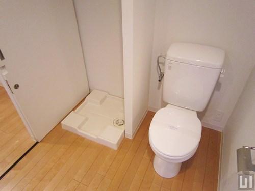 1R 33.86㎡タイプ - トイレ・洗濯機置き場