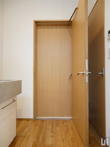 1LDK 55.38㎡タイプ - 防音室入り口ドア